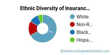 Insurance Majors in AR Ethnic Diversity Statistics