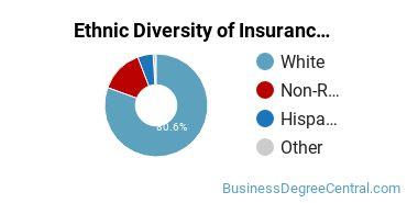 Insurance Majors in WI Ethnic Diversity Statistics