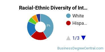 Racial-Ethnic Diversity of International Business Students with Bachelor's Degrees