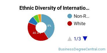 International Business Majors in LA Ethnic Diversity Statistics