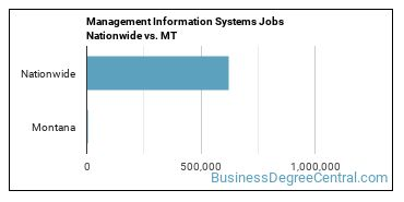 Management Information Systems Jobs Nationwide vs. MT