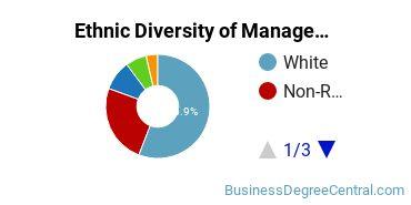 Management Sciences & Methods Majors in AR Ethnic Diversity Statistics