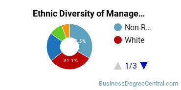 Management Sciences & Methods Majors in MD Ethnic Diversity Statistics