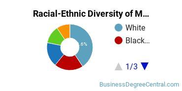 Racial-Ethnic Diversity of Management Science Undergraduate Certificate Students