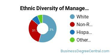 Management Sciences & Methods Majors in UT Ethnic Diversity Statistics