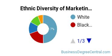 Marketing Majors in DC Ethnic Diversity Statistics
