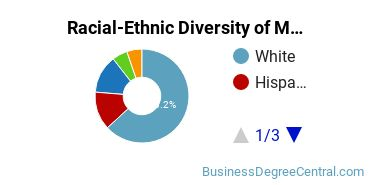 Racial-Ethnic Diversity of Marketing Research Students with Bachelor's Degrees