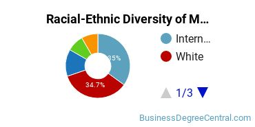 Racial-Ethnic Diversity of Marketing Master's Degree Students