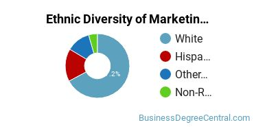 Marketing Majors in WY Ethnic Diversity Statistics