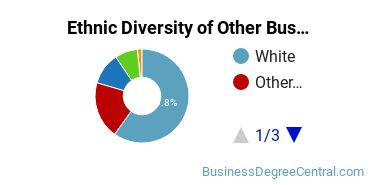 Other Business & Marketing Majors in IL Ethnic Diversity Statistics