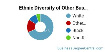 Other Business & Marketing Majors in IA Ethnic Diversity Statistics