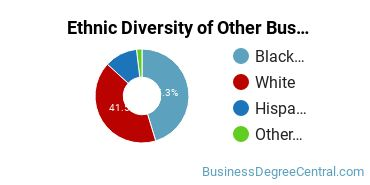 Other Business & Marketing Majors in TN Ethnic Diversity Statistics