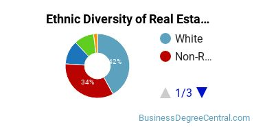 Real Estate Majors in MD Ethnic Diversity Statistics