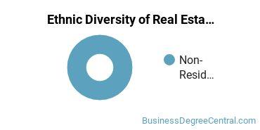 Real Estate Majors in MA Ethnic Diversity Statistics