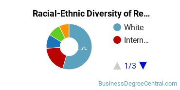 Racial-Ethnic Diversity of Real Estate Master's Degree Students