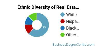 Real Estate Majors in NV Ethnic Diversity Statistics