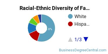 Racial-Ethnic Diversity of Fashion Merchandising Students with Bachelor's Degrees