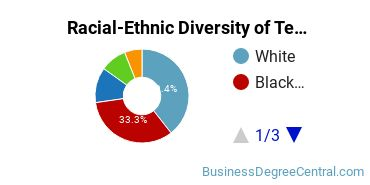 Racial-Ethnic Diversity of Telcom Management Master's Degree Students