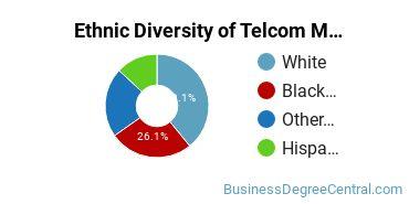 Telecommunications Management Majors in WV Ethnic Diversity Statistics